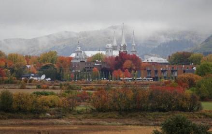 Baie Saint Paul - Campagne environnante - Vue sur le centre-ville