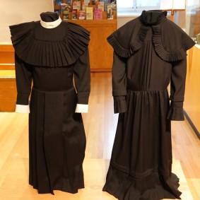 Trois Rivières - Musée des Ursulines - Robes de pensionnaires