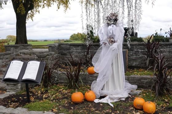 Québec - Parc des Champs de Bataille, situé sur les Plaines d'Abraham - Halloween et légende de la Dame Blanche
