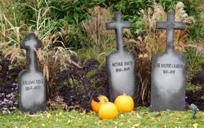 Québec - Parc des Champs de Bataille, situé sur les Plaines d'Abraham - Halloween