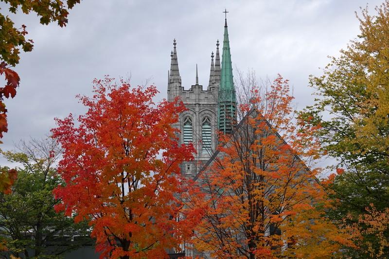 Québec - Parc des Champs de Bataille, situé sur les Plaines d'Abraham
