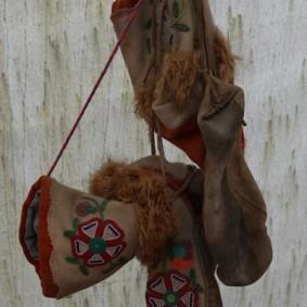 Site Traditionnel Wendat-Huron - Vêtement traditionnel