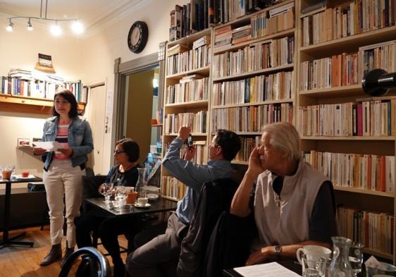 Trois Rivières - Déjeuner en poésie à la P'tite Brûlerie