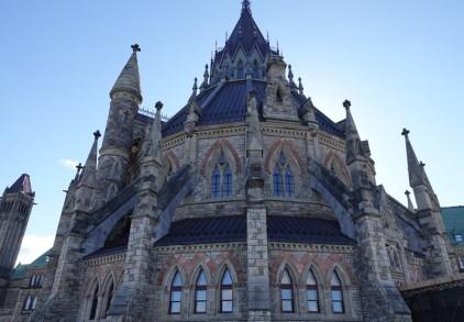 Ottawa - Colline du Parlement - Bibliothèque