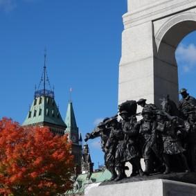 Ottawa - Monument commémoratif de Guerre du Canada