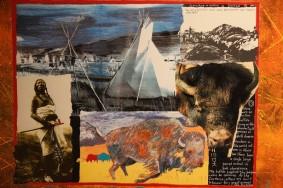 Gatineau - Musée canadien d'Histoire - Jane Ash Poitras - Hiérophanie du Bison