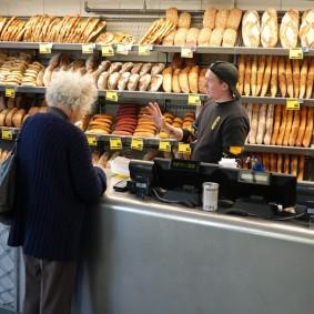 Montréal - Quartier d'Outremont - Bonne boulangerie !