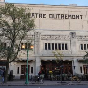 Montréal - Quartier d'Outremont - Le théâtre