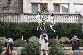 Montréal - Westmount - Décorations pour Halloween