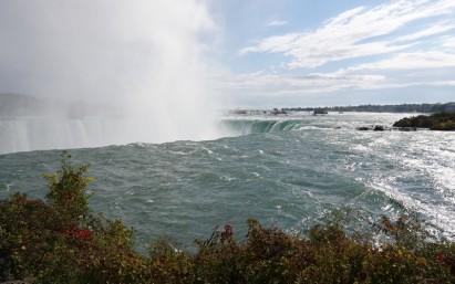 Niagara Falls - En amont des chutes