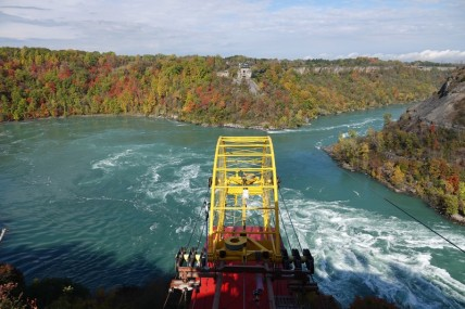 Niagara Falls - Vue depuis l'attraction Whirlpool Aero-car