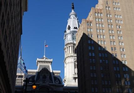 Philadelphie - Vue sur le City Hall