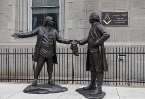 Philadelphie - Devant le Masonic Temple