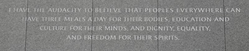 Washington - National Mall - Martin Luther King National Memorial