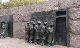 Washington - National Mall - Franklin Delano Roosevelt Memorial