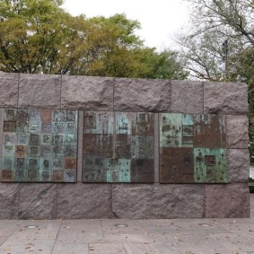 Washington - National Mall - Franklin Delano Roosevelt Memorial