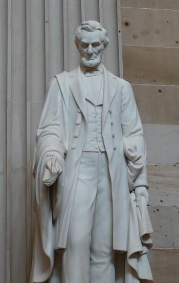 Washington - Capitole - Hall des Statues de la Nation - Lincoln