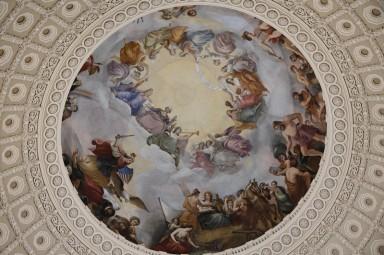Washington - Capitole - Hall des Statues de la Nation - Coupole