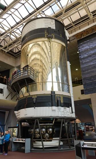 Washington - Air and Space Museum - Labo de la station internationale