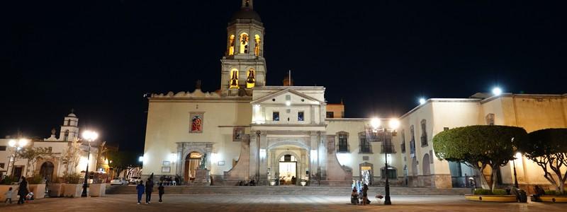 Première étape au Mexique, dans la jolie ville coloniale deQuerétaro
