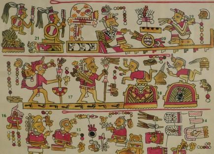Mexico - Museo Nacional de Antropologia - Codex