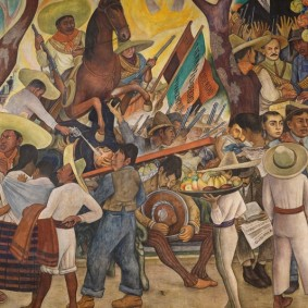 Mexico - Museo mural Diego Riveira