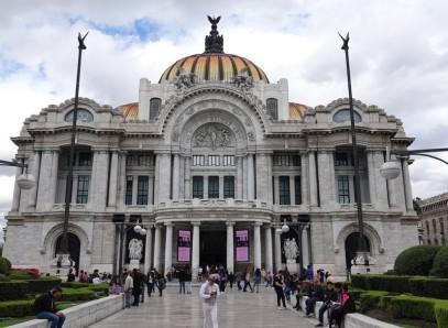 Mexico - Museo mural Diego Riveira - Palacio de Bellas Artes