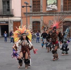 Mexico - Danseurs aztèques