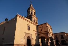 Querétaro - Eglise Santa Cruz