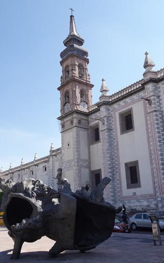 Querétaro - Templo de Santa Rosa de Viterbo