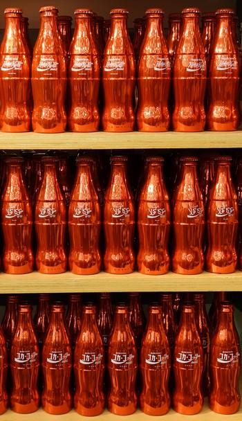 Atlanta - Esplanade non loin du Centennial Olympic Park - World of Coca Cola