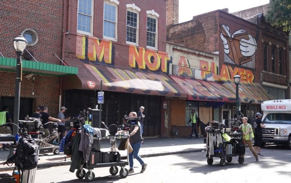 Atlanta - Downtown - Tournage de film