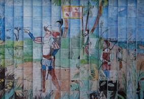 Sur la route, entre Melbourne et Miami - Selon une légende populaire, l'Espagnol Juan Ponce de León aurait découvert la Floride en cherchant la fontaine de jouvence...