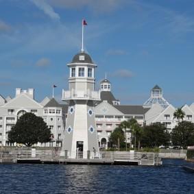 Parc Disney - Zone hôtelière