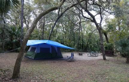 Alexander Springs - Camping