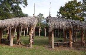 Vermilionville, village historique - Aire de réunion amérindienne où se déroulaient les pow-wow
