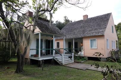 Vermilionville, village historique - A gauche, cuisine extérieure