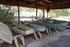 Vermilionville, village historique - Atelier de barques