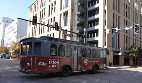 Bâton-Rouge - Trolley gratuit !