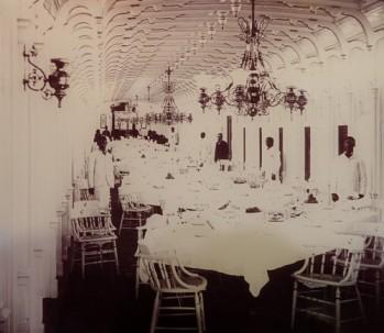 Bâton-Rouge - Capitol Park Museum - Intérieur luxueux d'un steamboat