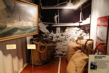 Bâton-Rouge - Capitol Park Museum - Culture du coton