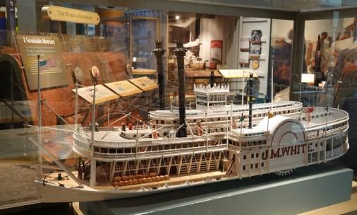 Bâton-Rouge - Capitol Park Museum - Steamboat