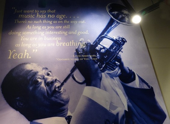 Bâton-Rouge - Capitol Park Museum - Louis Armstrong, l'enfant du pays