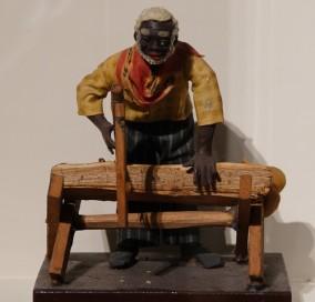 Bâton-Rouge - LSU Rural Life Museum - Figurine en cire datant du XIXe siècle