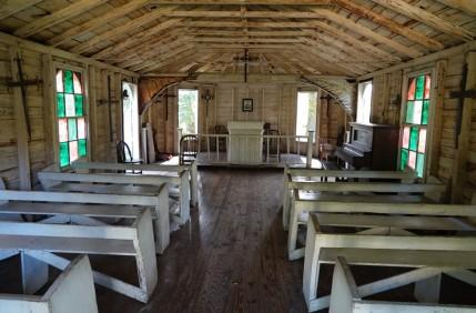 Bâton-Rouge - LSU Rural Life Museum - Eglise