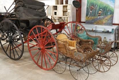 Bâton-Rouge - LSU Rural Life Museum - Sulkys pour enfants