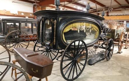 Bâton-Rouge - LSU Rural Life Museum - Corbillard !