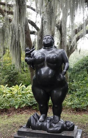 New Orleans - Jardin des sculptures - Fernando Botero