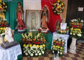 Valladolid - Exposition de Vierge pour la célébration du 12 décembre
