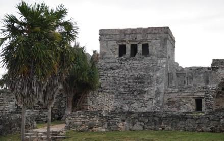 Site archéologique de Tulum - Temple du Dieu descendant